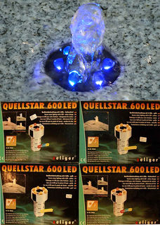 LED-Quellleuchte Set