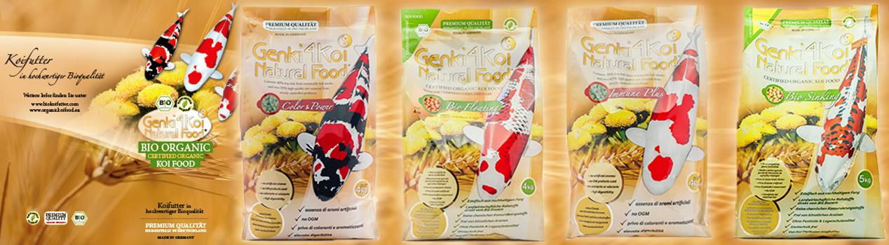Genki4Koi Natural Food